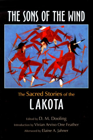 Sons of the Wind The Sacred Stories of the Lakota  2000 edition cover
