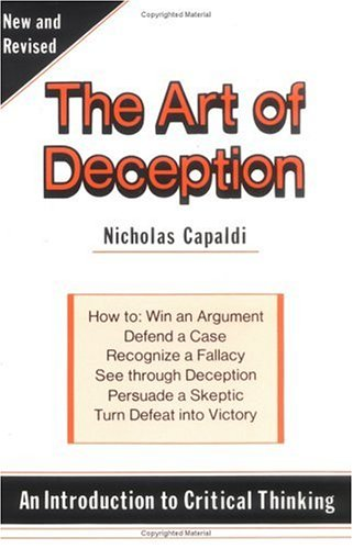 Art of Deception An Introduction to Critical Thinking 3rd (Revised) edition cover