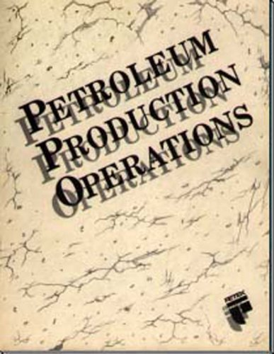 Petroleum Production Operations 1st edition cover