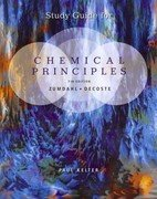 Study Guide for Zumdahl/Decoste's Chemical Principles  7th 2013 edition cover