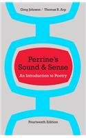 Perrine's Sound and Sense An Introduction to Poetry 14th 2014 edition cover