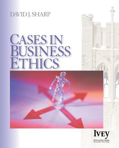Cases in Business Ethics   2006 edition cover