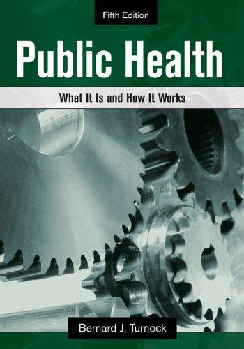 Public Health  5th 2012 edition cover