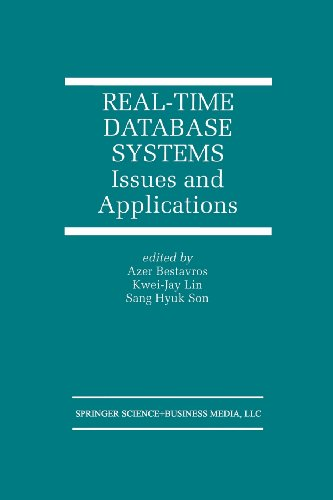 Real-Time Database Systems Issues and Applications  1997 edition cover