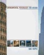 Enviromental Psychology for Design   2006 edition cover