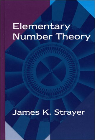 Elementary Number Theory   1994 edition cover