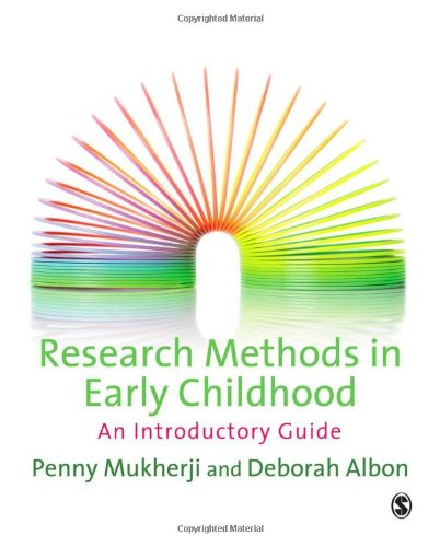 Research Methods in Early Childhood An Introductory Guide  2010 (Guide (Instructor's)) edition cover