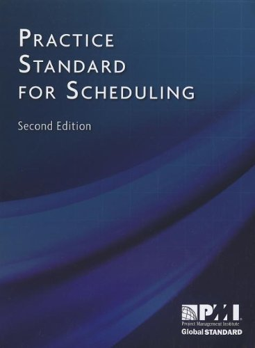 Practice Standard for Scheduling  2nd 2011 edition cover