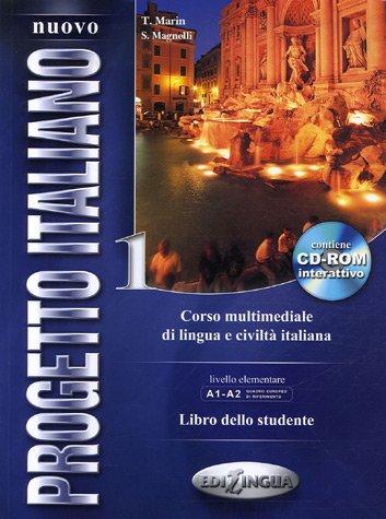 Progetto Italiano 1 Corso Multimediale Di Lingua E Civilta Italiana (Pk W/Cd)  2006 edition cover