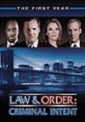 Law & Order Criminal Intent - The First Year System.Collections.Generic.List`1[System.String] artwork