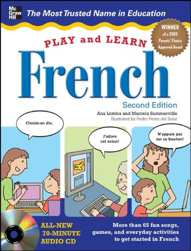 Play and Learn French  2nd 2012 9780071759243 Front Cover