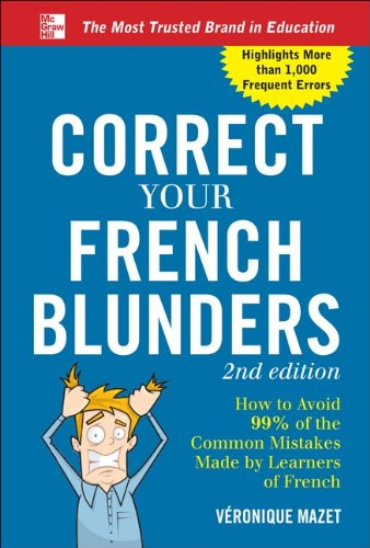 Correct Your French Blunders  2nd 2012 edition cover