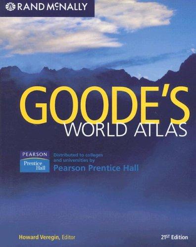 Goode's World Atlas  21st 2007 edition cover