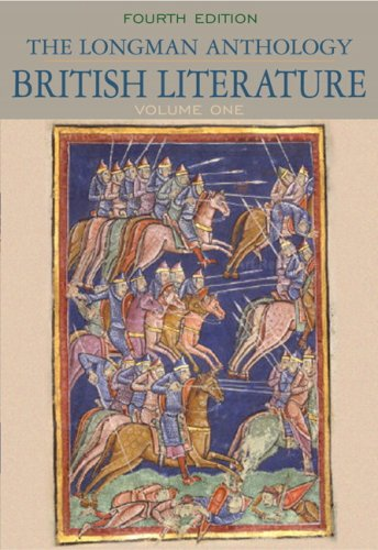 Longman Anthology of British Literature, the, Volume 1  4th 2010 9780205655243 Front Cover