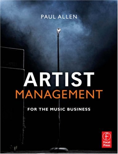 Artist Management for the Music Business   2007 edition cover