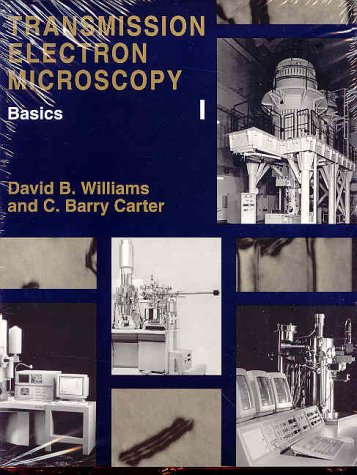 Transmission Electron Microscopy A Textbook for Materials Science 1st 2004 9780306453243 Front Cover