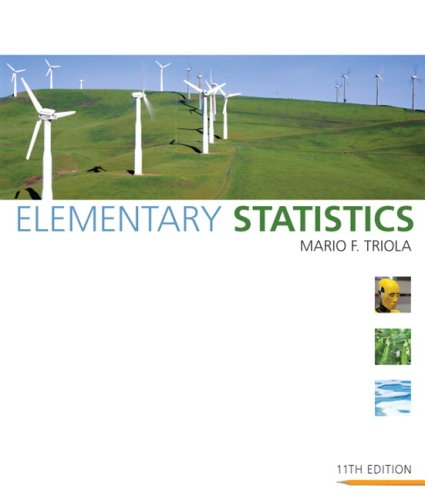 Elementary Statistics  11th 2010 9780321500243 Front Cover