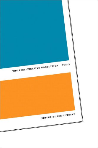 Best Creative Nonfiction   2007 edition cover