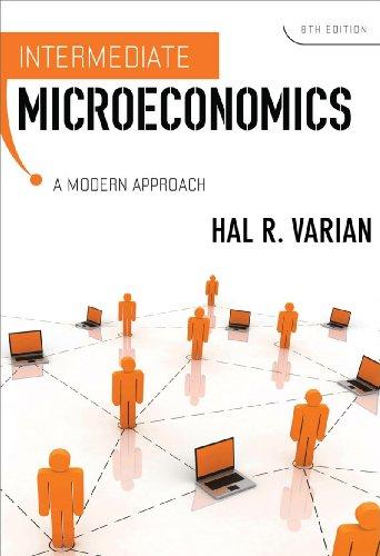 Intermediate Microeconomics A Modern Approach 8th 2009 edition cover