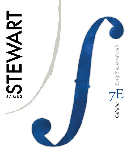 Calculus  7th 2012 edition cover