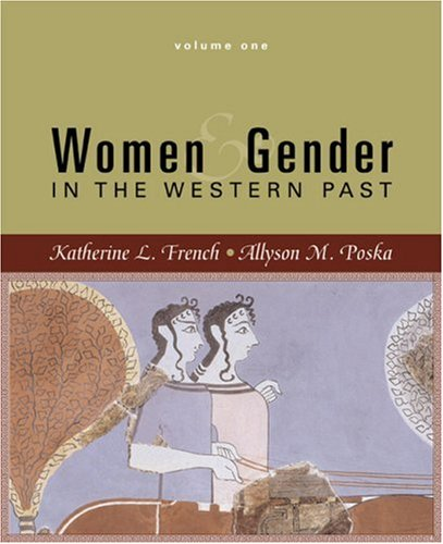 Women and Gender In the Western Past  2007 edition cover