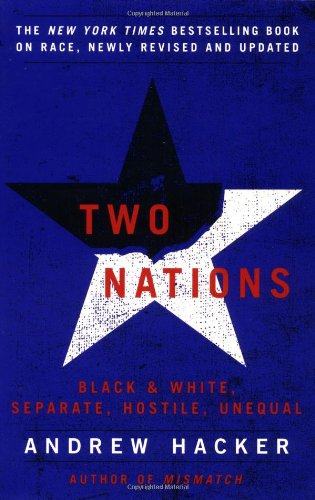 Two Nations Black and White, Separate, Hostile, Unequal  2003 edition cover