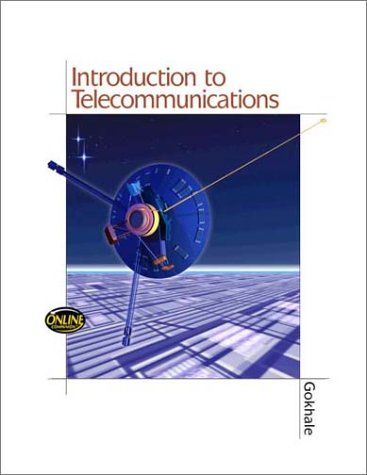 Introduction to Telecommunication   2001 edition cover