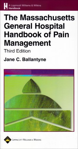 Massachusetts General Hospital Handbook of Pain Management  3rd 2006 (Revised) edition cover