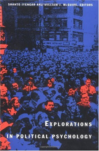 Explorations in Political Psychology   1993 edition cover