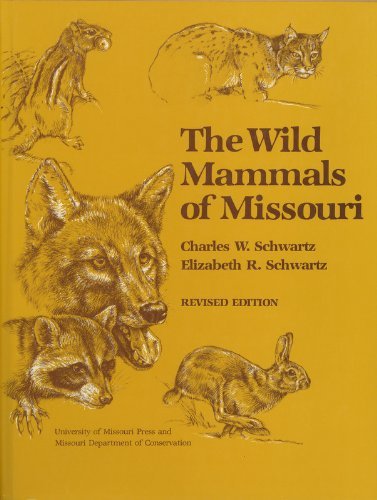 Wild Mammals of Missouri  1981 (Revised) edition cover
