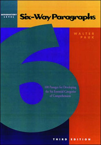 Six-Way Paragraphs  3rd 2000 edition cover