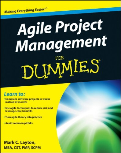 Agile Project Management for Dummies   2012 edition cover