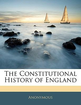 Constitutional History of England  N/A edition cover