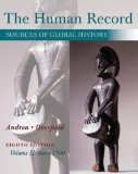 The Human Record: Sources of Global History: Since 1500  2015 9781285870243 Front Cover