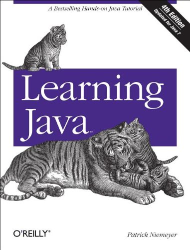 Learning Java  4th 2012 edition cover