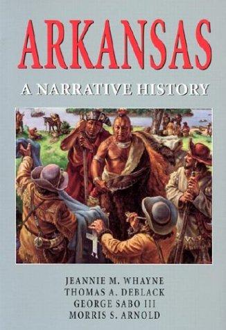 Arkansas A Narrative History  2002 edition cover