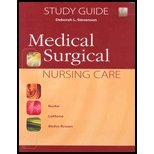 Medical-surgical Nursing Care 1st 2003 edition cover