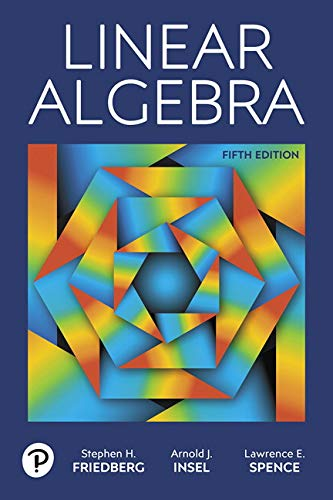 Linear Algebra:   2018 9780134860244 Front Cover