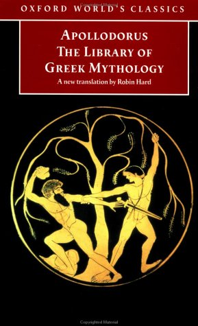 Library of Greek Mythology   1997 edition cover