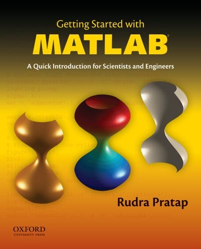 Getting Started with MATLAB  6th 2010 9780199731244 Front Cover