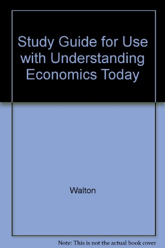 Understanding Economics Today 6th 1998 9780256263244 Front Cover