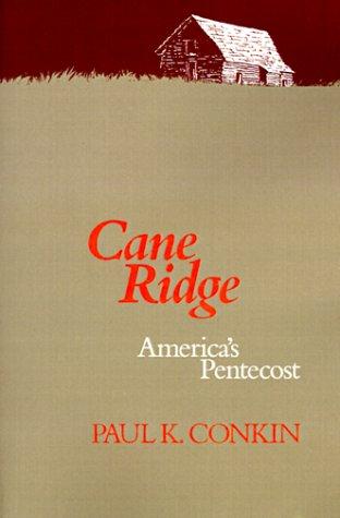 Cane Ridge America's Pentecost  1990 edition cover