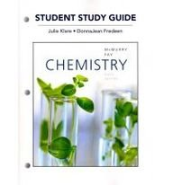 Study Guide for Chemistry  6th 2012 edition cover