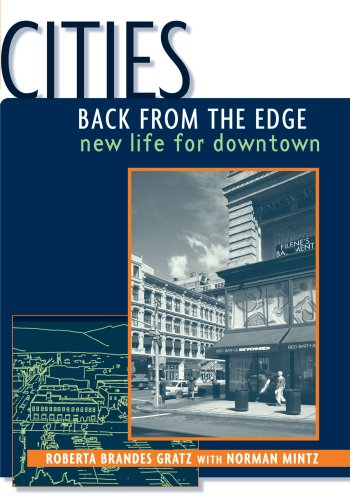 Cities Back from the Edge New Life for Downtown  1998 9780471361244 Front Cover