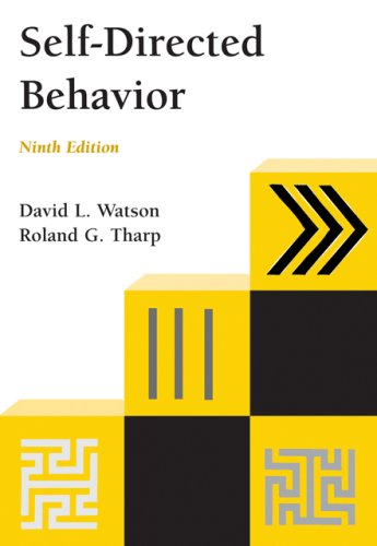 Self-Directed Behavior  9th 2007 edition cover