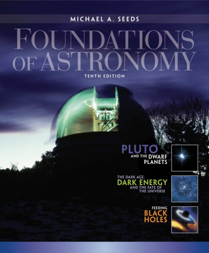 Foundations of Astronomy  10th 2008 edition cover