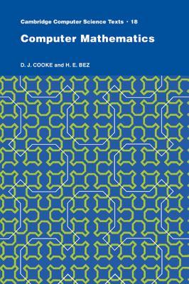 Computer Mathematics   1984 9780521273244 Front Cover
