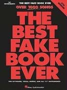 Best Fake Book Ever  4th 2002 (Revised) 9780634034244 Front Cover