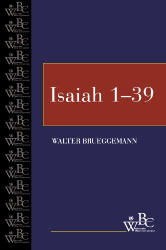 Isaiah, 1-39  N/A edition cover