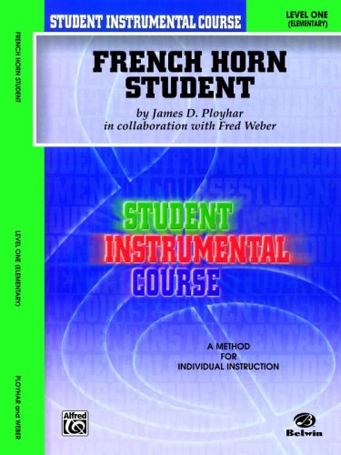 Student Instrumental Course French Horn Student Level I  2000 edition cover